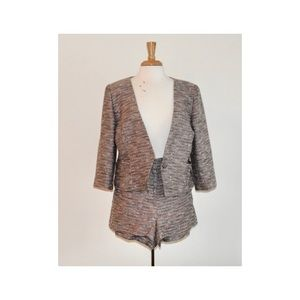 DKNY SHORT & JACKET SET